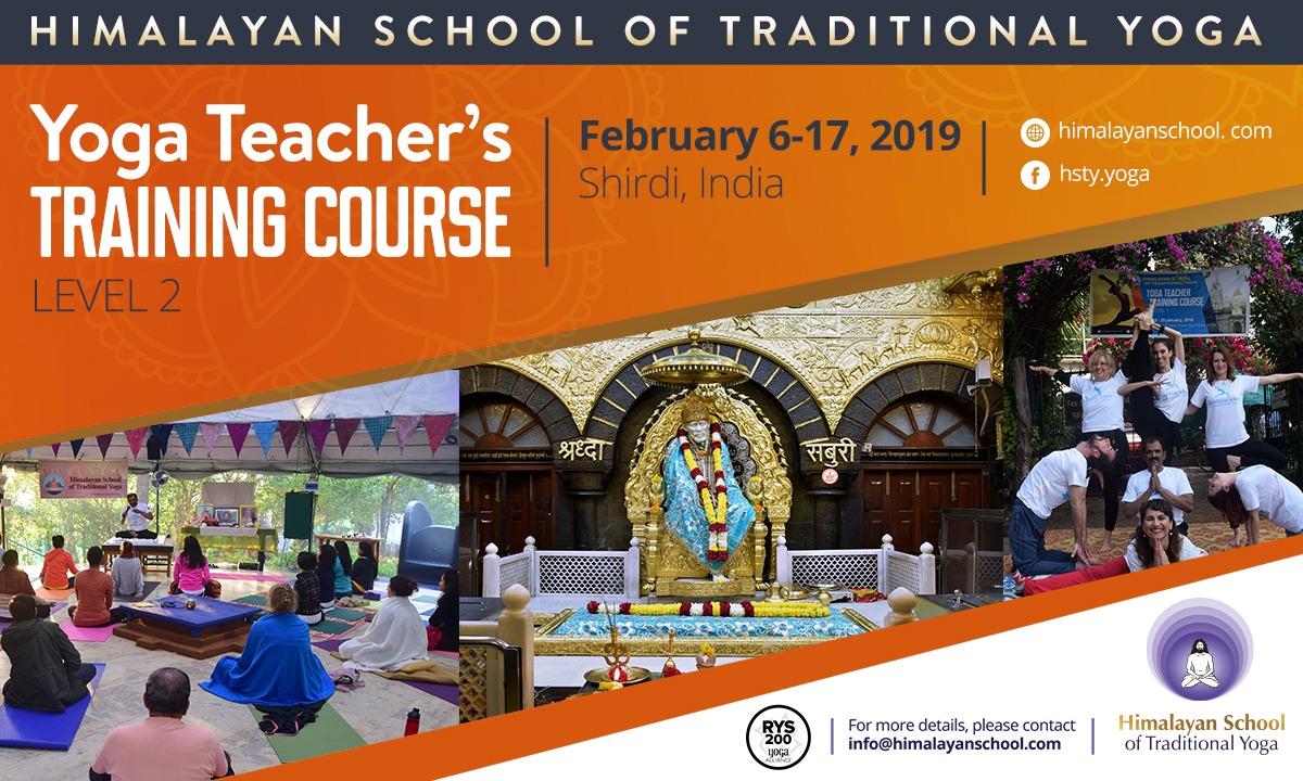 Yoga Teachers Training course – Level 2 – Himalayan School